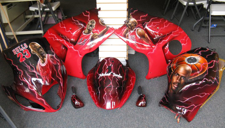 Custom Motorcycle Paint Jobs