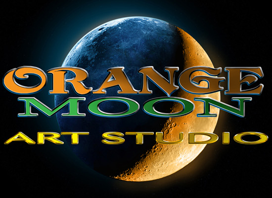Orange Moon Art Studio